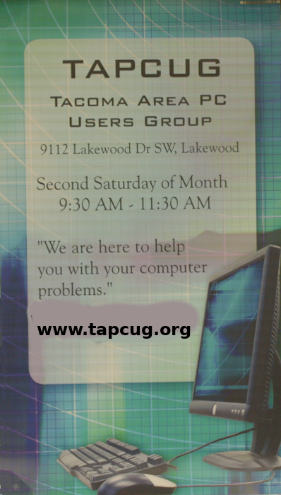 Welcome to               TAPCUG